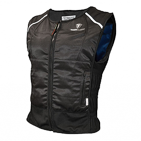 A cooling vest that works via phase changing.